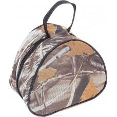 """Сумка """"Onlitop"""" для хранения и переноски катушек, средняя, цвет: коричневый"""